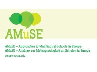 Recommendations to promote multilingualism at schools